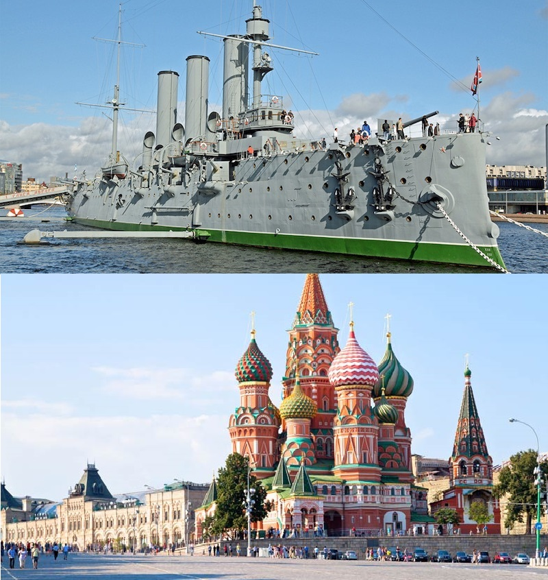 S.Pietroburgo e Mosca