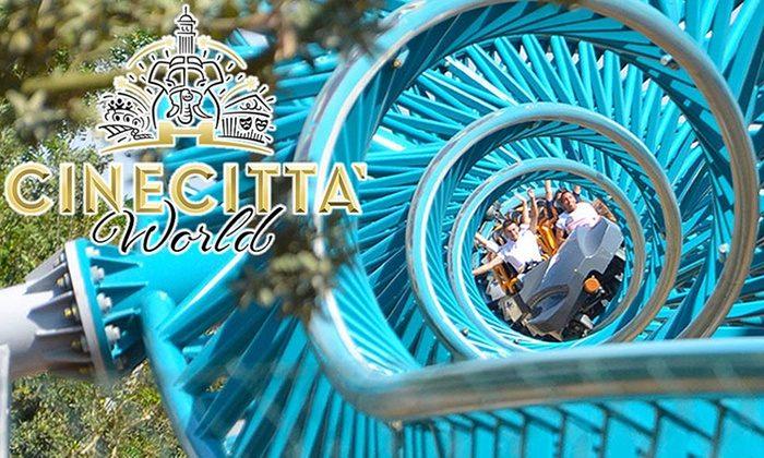 Cinecittà World 2 GIORNI AL PARCO + 1 NOTTE IN HOTEL