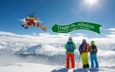 La Befana sulla neve in Trentino